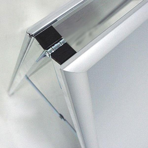 A-bord sendvic info tabla, klik profil 25mm, spojnica
