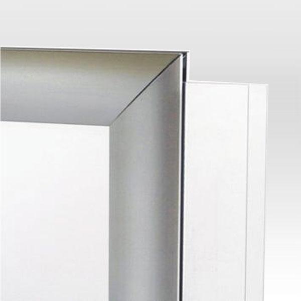 Dvostrani stoni aluminijumski ramovi za postere, sistem za ubacivanje folije