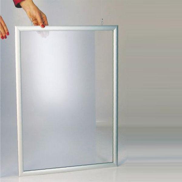Dvostrani visece aluminijumski ramovi za postere, sistem za ubacivanje postera