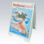 Plasticna stampana A bord sendvic info tabla slika