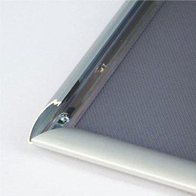 Aluminijumski klik klak poster ram, profil 25mm – izmena postera