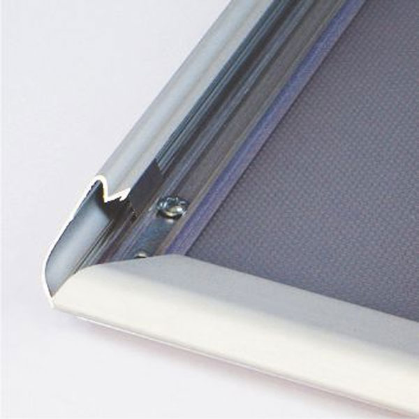 Aluminijumski klik klak ram za postere, profil 32mm,  sistem otvaranja
