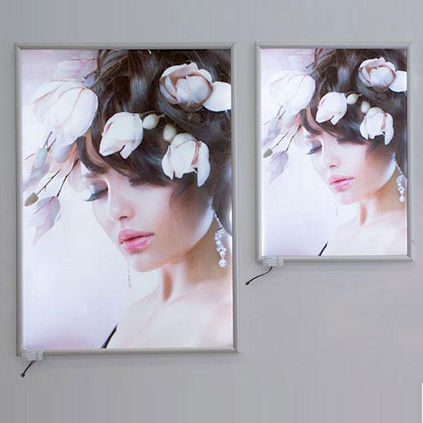 Ultra tanki sveteleci LED klik poster ramovi, slika na zidu