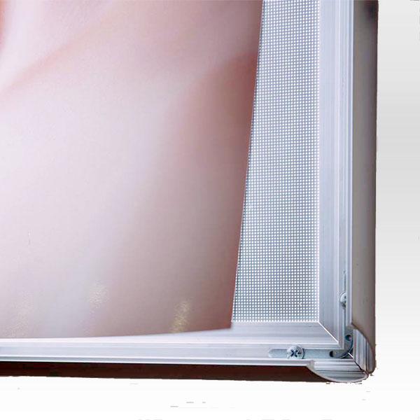 Ultra tanki sveteleci LED klik poster ramovi, sistem osvetljenja