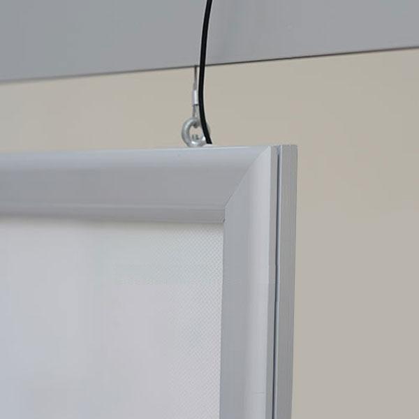 Ultra tanki sveteleci LED klik poster ramovi, sistem za plafonsko kacenje