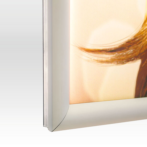 Ultra tanki sveteleci LED klik poster ramovi, slika profila