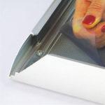 Aluminijumski klik klak ramovi za postere, profil 44mm, zastitna folija